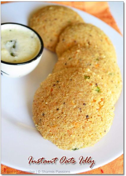 Instant Oats Idli | Oats Breakfast Recipe with stepwise