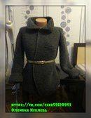 Пальто спицами (реглан) как у Бородиной | Вязание Рукоделие