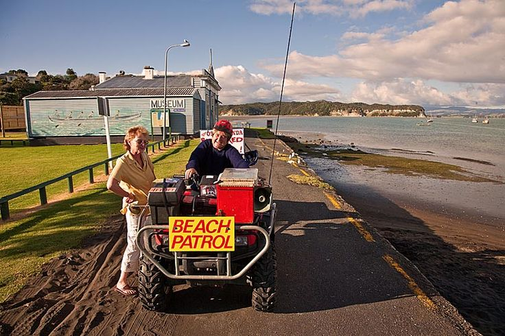 Kawhia, the ladies of the beach patrol,  see more at New Zealand Journeys app for iPad www.gopix.co.nz