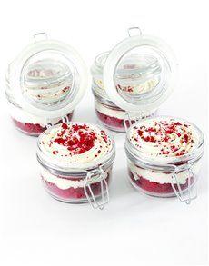 NetFlorist Bakery: Red Velvet Cupcakes in a Jar!