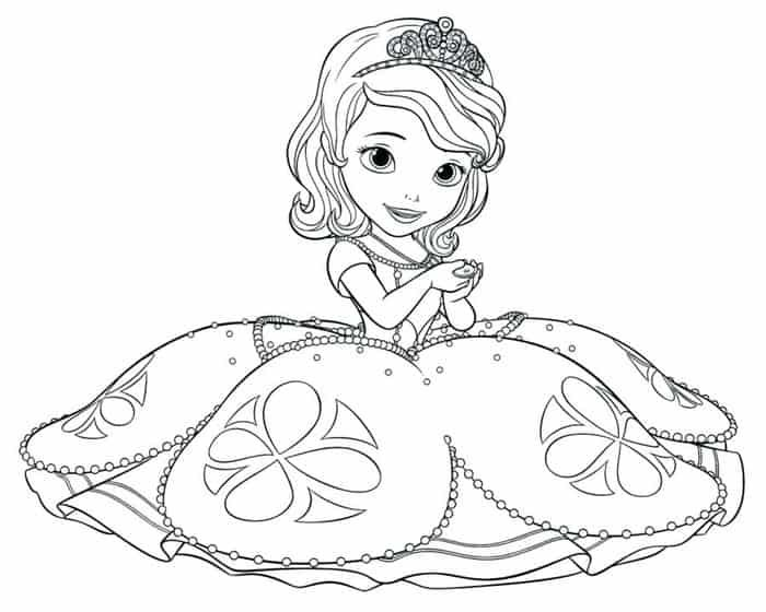Baby Princess Coloring Pages Princess Coloring Pages Disney Coloring Pages Free Coloring Pages