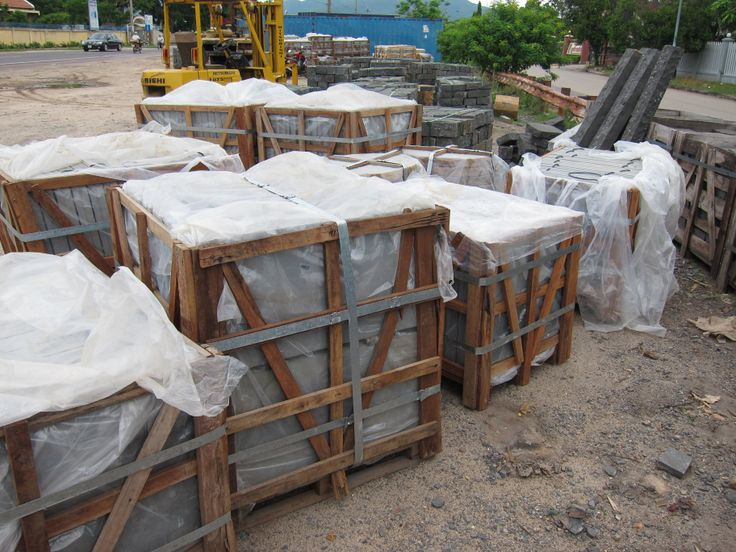 Cubes for shipment