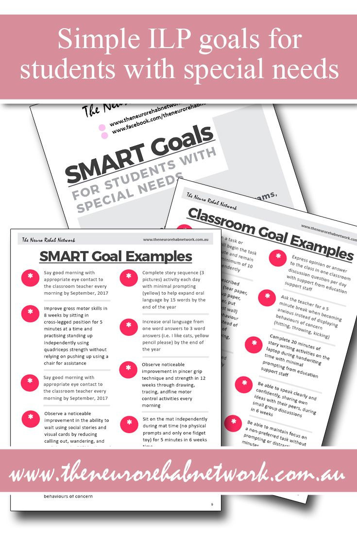 how to write IEP goals, how to write SMART goals, how to write ILP goals, IEP goal ideas for students with special needs, goal setting for children with learning difficulties, goals for pupils with special needs #IEPgoals #IEPaccommodations #ILPgoals #SMARTgoals