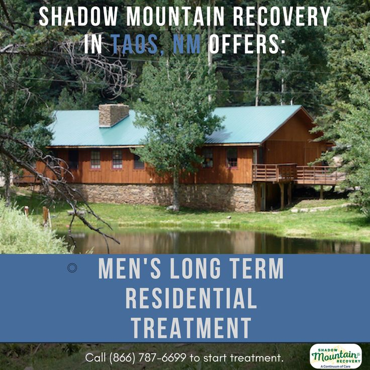 We offer affordable #treatment in a structured setting, utilizing traditional and evidence-based therapies. We are happy to offer an all #male program in #Taos, designed specifically to address the issues that disproportionally affect #men in early #recovery.  Learn more @ Taos.ShadowMountainRecovery.com  ○○○ #Addiction #AddictionRecovery #ShadowMountainRecovery #rehabilitation #detoxification #detox #rehab #Taos #NewMexico #TaosNM #TaosNewMexico #Drugs #Alcohol #RecoveryIsPossible