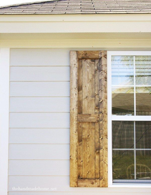 Best 25 diy shutters ideas on pinterest diy exterior for How to make shutters from pallets