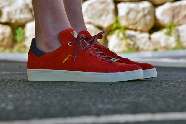 #adidas Skateboarding Stan Smith Primitive Red #sneakers