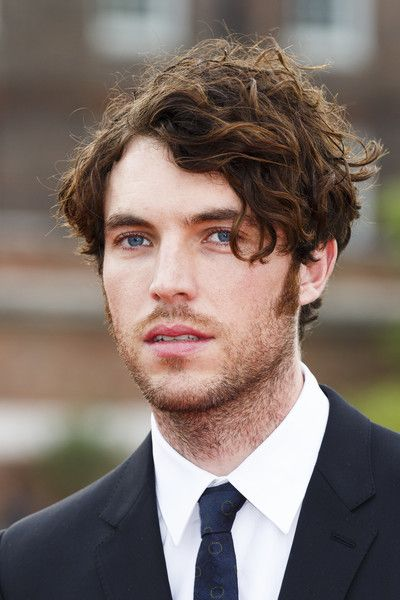 Tom Hughes arrives for the premiere screening of ITV's Victoria at The Orangery on August 11, 2016 in London, England.