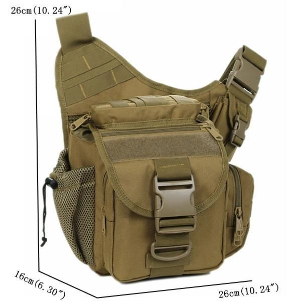 Men Waterproof Camera Bag Multi-functional Tactical Package - Banggood Mobile