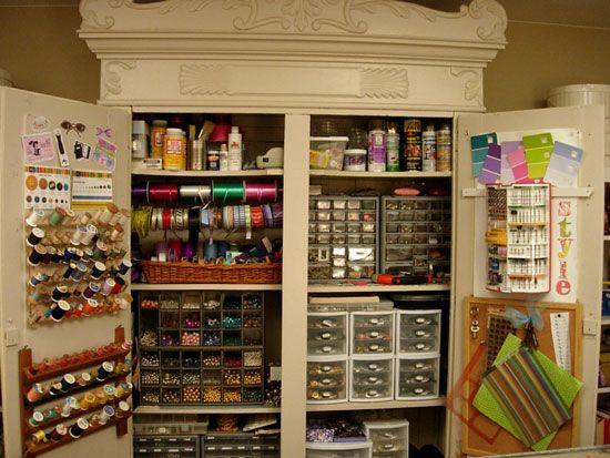 Craft storage!