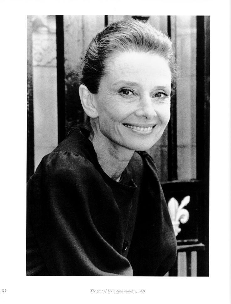 Rare Audrey Hepburn — Audrey Hepburn, 1989.