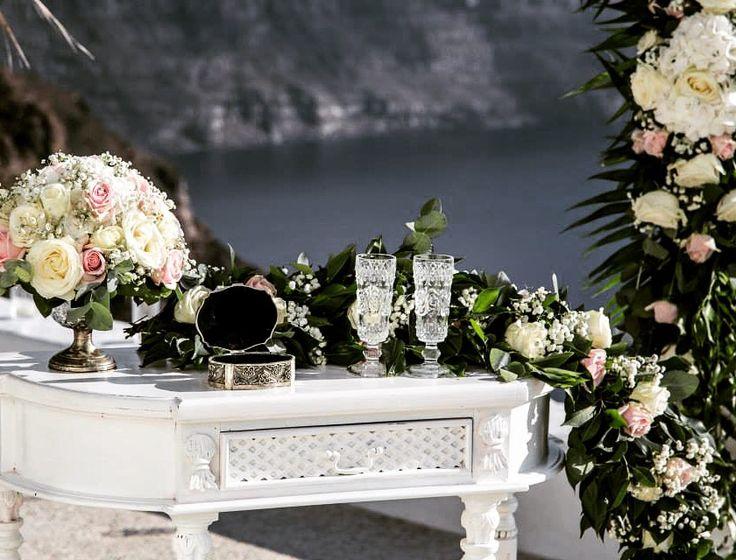 Ceremony table ,Santorini