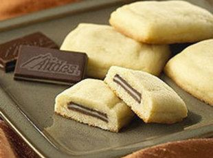 Oh, good heavens these Andes Mint Pillow Cookies are amazing. TIP: If you had to, you could roll out a refrigerated roll of sugar cookie dough. However, this is much better if you make the dough yourself.