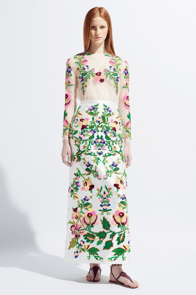 Valentino Resort 2014 Collection, Folky!