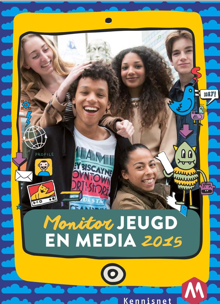 Monitor jeugd en media 2015 van mediawijzer en kennisnet.