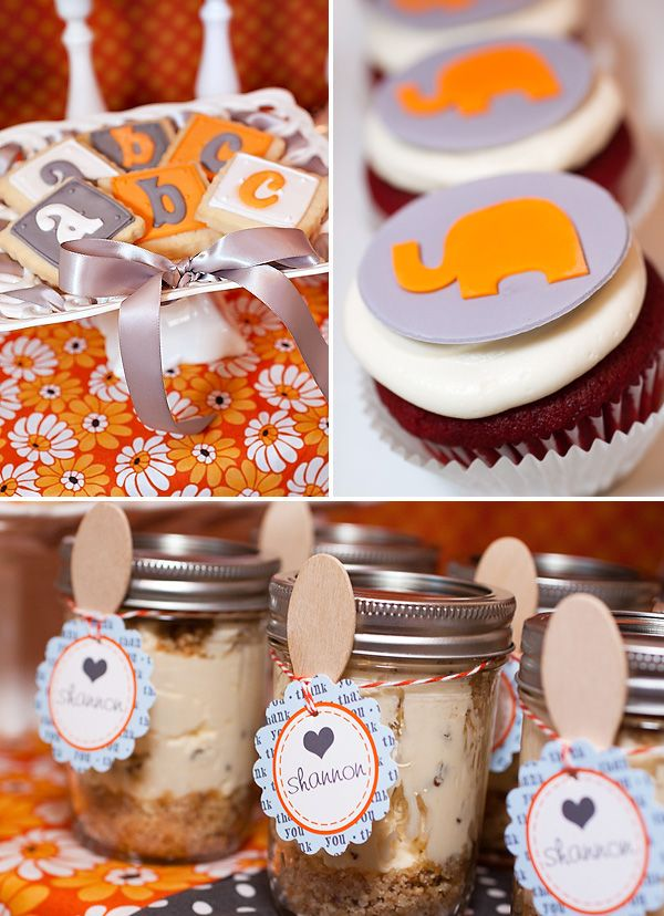 Sweet treats and favors.