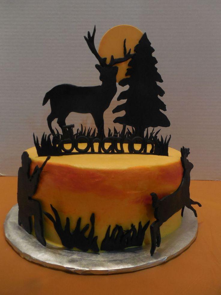 Deer Hunting Cake on Cake Central