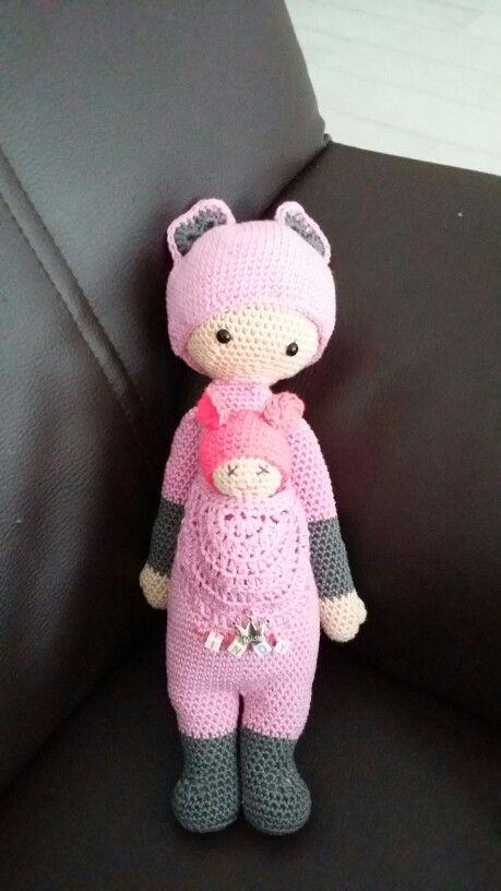 Lalylala Kira Kangeroe gemaakt in opdracht voor 2 jarig meisje!