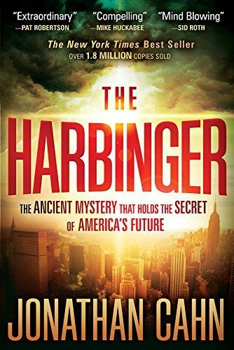The Harbinger: The Ancient Mystery that Holds the Secret of America's Future by Jonathan Cahn, http://www.amazon.com/dp/B005IYEQKI/ref=cm_sw_r_pi_dp_cbx1ub0F4S5KH