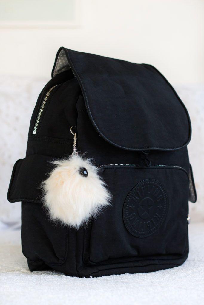 Mochila City Pack S na coleção Furry da Kipling!