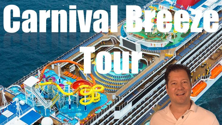 Carnival Breeze Review - Full Walkthrough - Cruise Ship Tour
