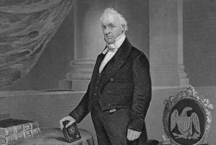 April 23 - President Buchanan