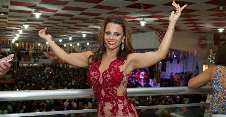 Viviane Araújo conta como cuida do corpo para o Carnaval