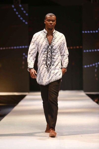 Elikem. Glitz Africa Fashion Week 2013. Accra #ItsAllAboutAfricanFashion…