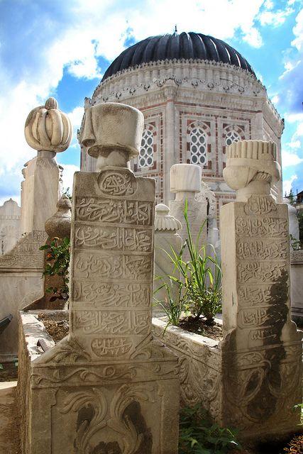 Ezelden ebede bir yolculukta ise ruh ! Dünya bir durak !  Muslim Cemetery in Istanbul