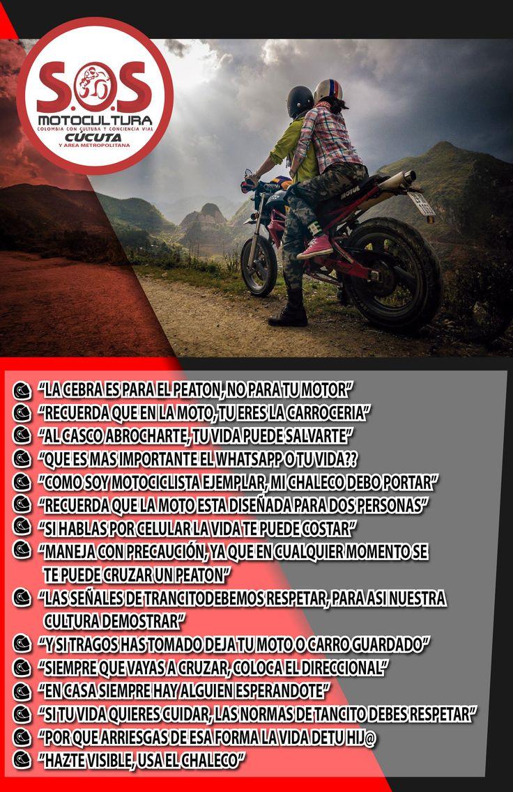 Volante Seguidad Motociclistas