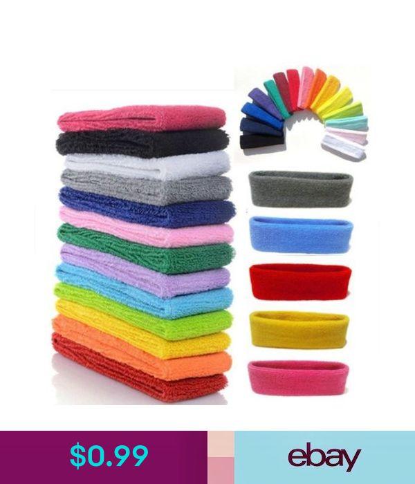 Sports Tennis Yoga Cotton Headband+Wristbands Kit Sweatbands Basketball Bracers