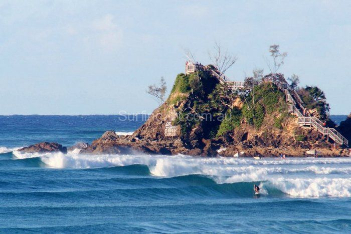 The Pass Byron Bay Perfect Surf rolled Canvas