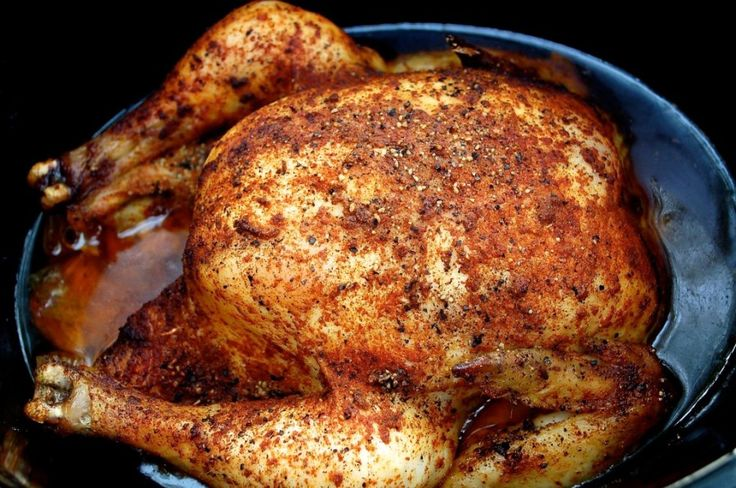 This is seriously one of my favorite recipes for the crockpot because well its super fast and super easy. This is also what I bring to Tyler's family holiday meals.  Everyone always raves about it. All it takes is an onion, some seasoning, a whole chicken and your trusty slow cooker. This crockpot whole chicken …