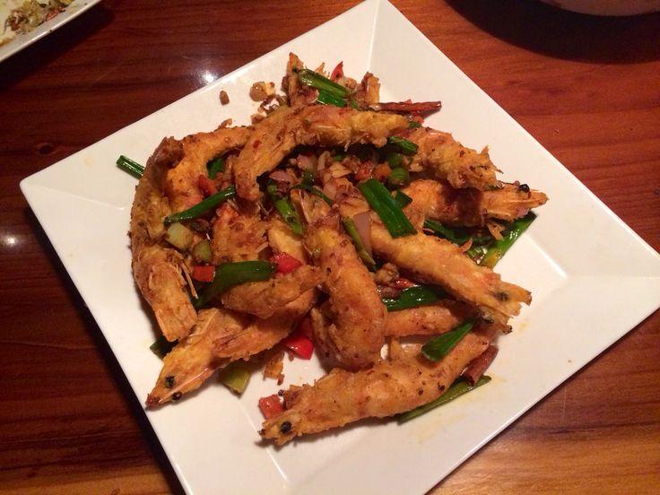 Garlic & Pepper Prawns | Delicious Food | Pinterest