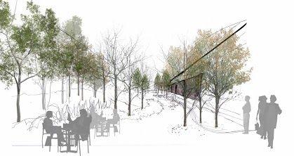 Dibujo proyecto de paisajismo dise o estudio paisajismo for Diseno de jardines pdf