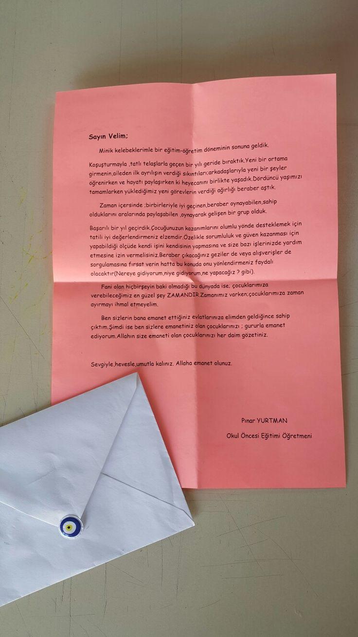 Veee veliye mektup