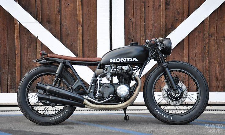 Honda CB550 cafe racer: un petit bijoux de Californie