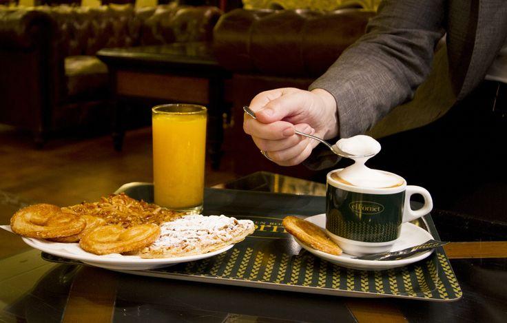 Empieza el día con un buen desayuno preparado especialmente para ti...