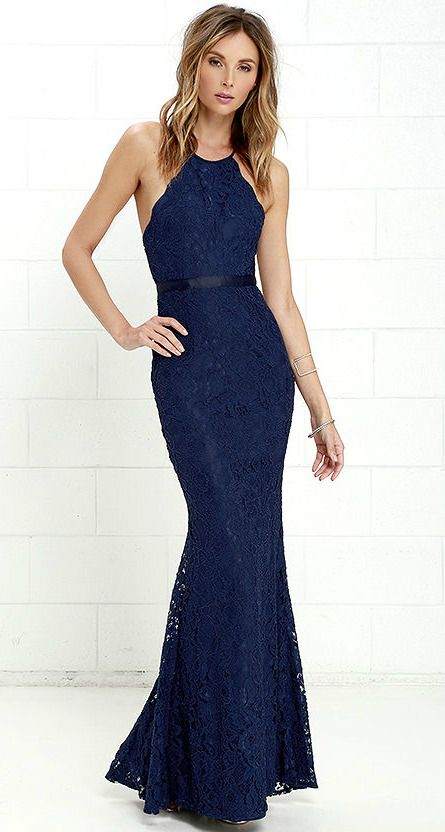 147 best images about navy blue bridesmaid dresses on for Navy blue dresses for weddings