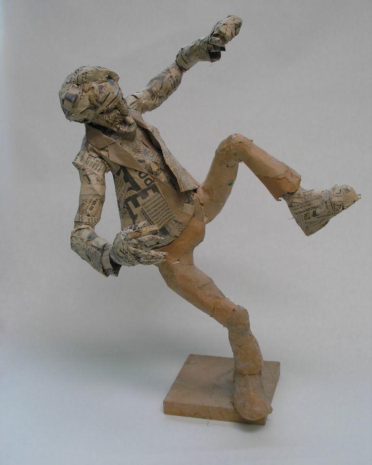 25 best ideas about paper mache sculpture on pinterest for Best paper for paper mache