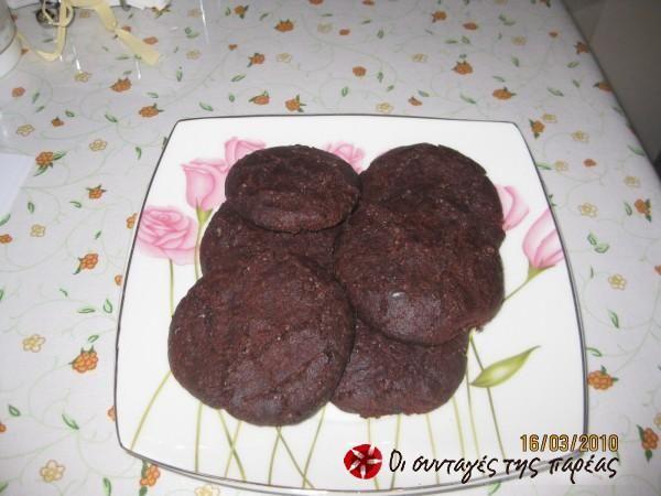 Chocolate chip cookies νηστίσιμα #sintagespareas