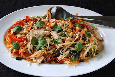 Asiatisk kyllingsalat