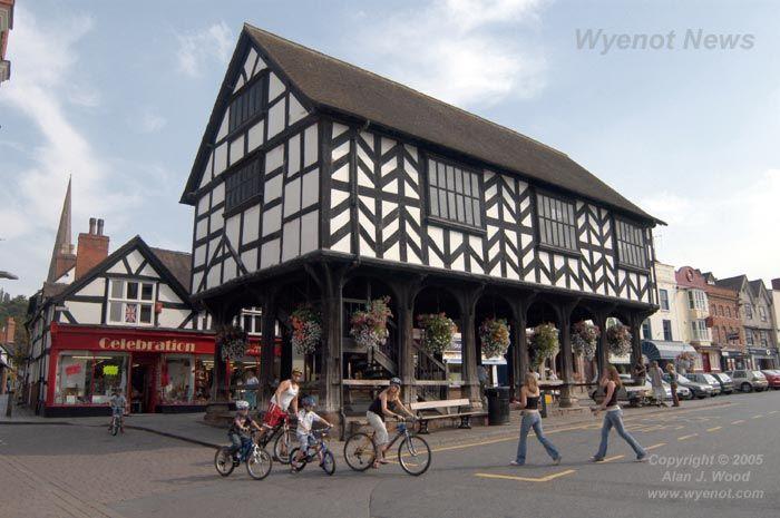 Herefordshire Towns, Ledbury - Wyenot.com