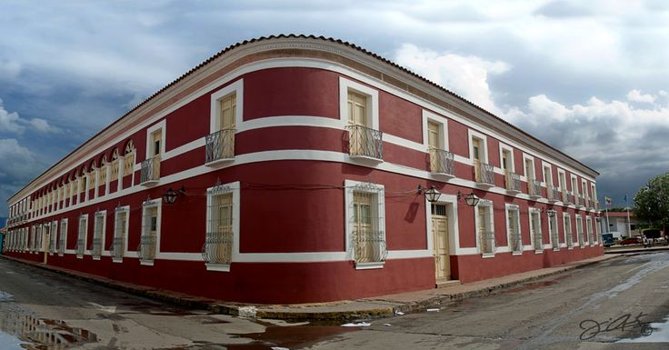 La Casa de las Cien Ventanas en Coro, Venezuela