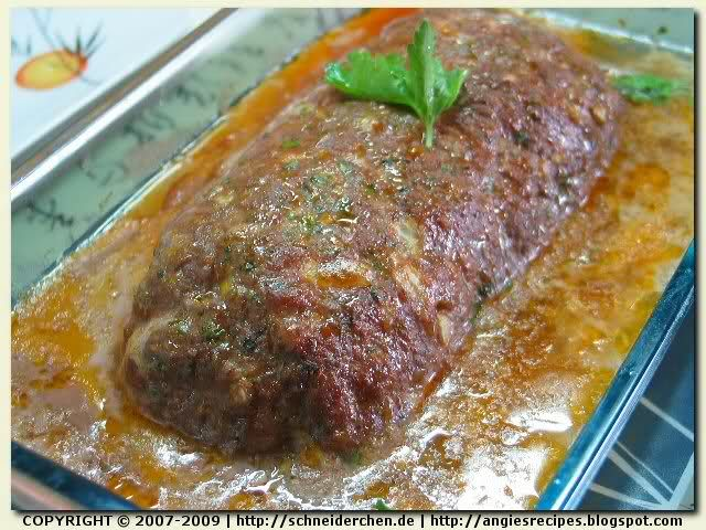 amazing German meatloaf recipe!! Easy to put together No ketchup and has so much flavor.