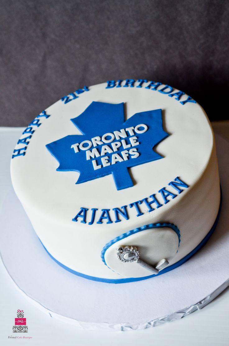 Toronto Maple Leafs Cake