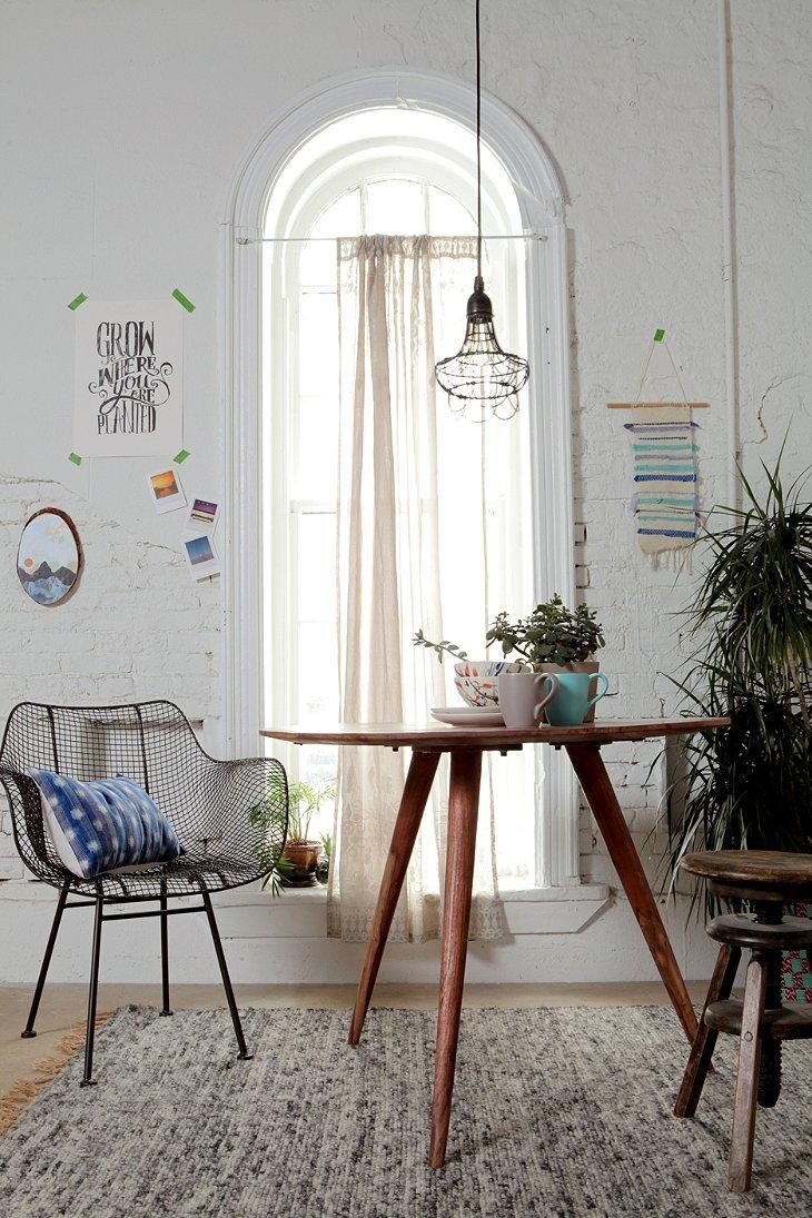 cozy corner - especially love how the art is casually arranged