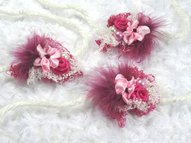Haarbänder - Haarband Accessoire Neugeborene Fotoshooting Prop  - ein Designerstück von MONICCI_Handmade_Props bei DaWanda