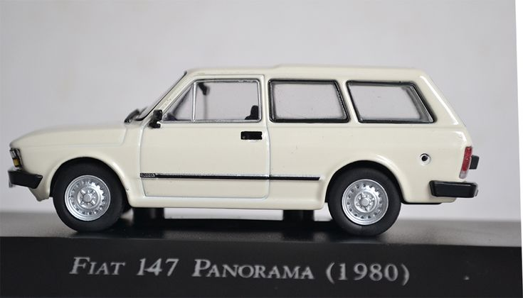 """Fiat 147 Panorama (1980) - Edição 40 """"Carros Inesquecíveis do Brasil"""""""