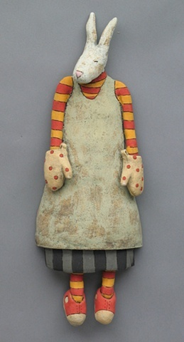 Swink- cute, comical little doll- could make it with a different animal head, like a cat or bear or a persons face.