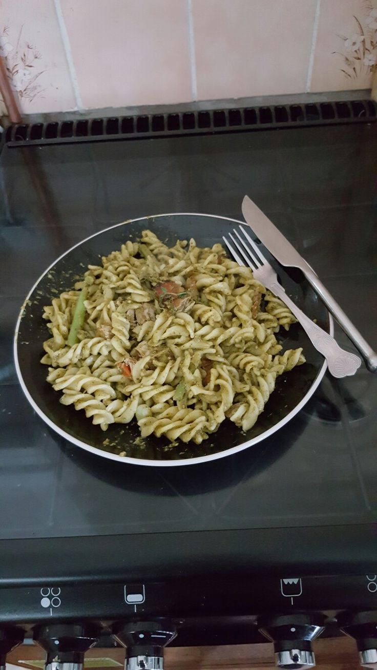 #4 Nutty Creations Tuna Pasta & Parsley Pesto With Tomato, Dwarf Beans & Edememe Beans Energy Boosting Lunch! #Nutty  #Tasty #Made Fresh # Filling